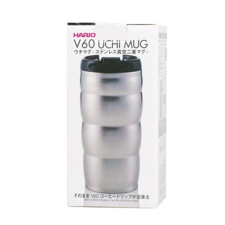 Hario V60 Uchi Mug - Kubek Termiczny srebrny - 350ml