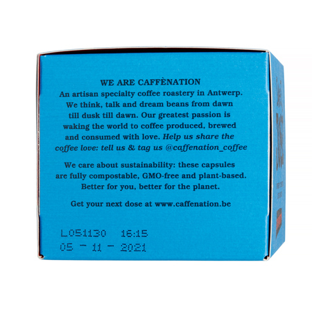Caffenation Sweet JOSE Capsules (box of 10) (outlet)