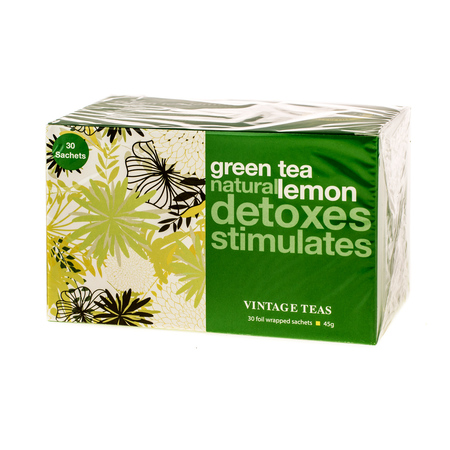 Vintage Teas Green Tea Lemon - 30 torebek