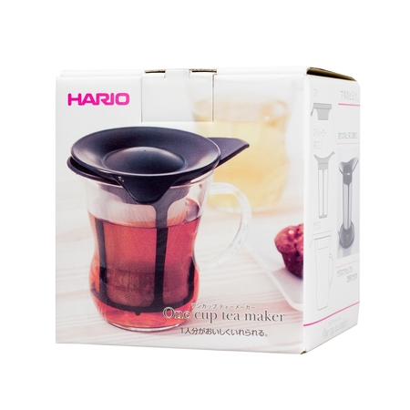 Hario - One Cup Tea Maker - Czarny 200ml