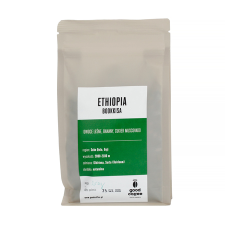 Good Coffee - Etiopia Bookkisa Espresso