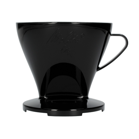 Melitta plastikowy dripper do kawy 1x4 Czarny