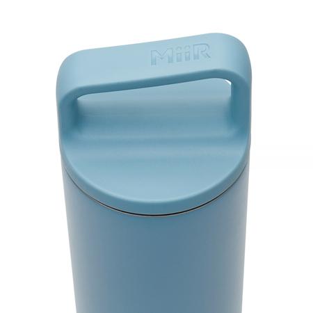 MiiR - Wide Mouth Bottle Szaroniebieska - Butelka termiczna 590 ml