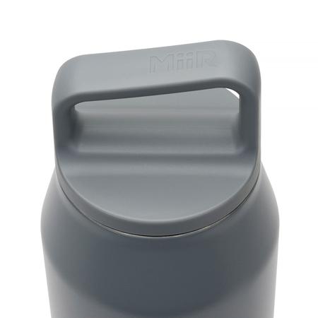 MiiR - Wide Mouth Bottle Grafitowa - Butelka termiczna 950 ml
