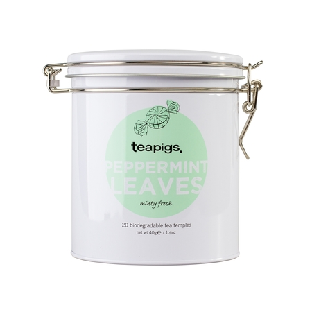 teapigs Peppermint Leaves 20 piramidek - Puszka