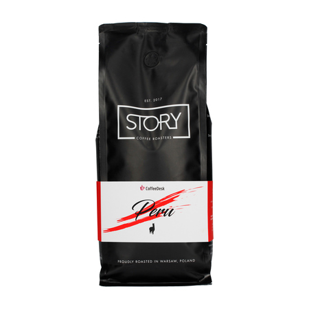 Story Coffee Roasters Peru Cajamarca Washed & Sun Dried ESP 1kg, kawa ziarnista (outlet)