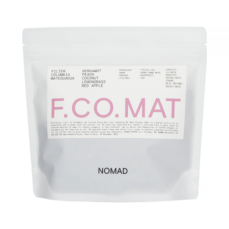 Nomad Coffee - Colombia Mateguada Filter