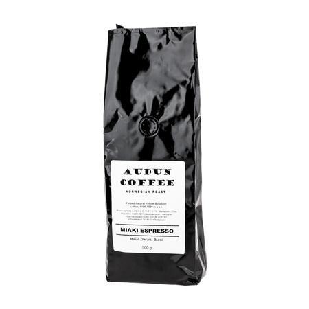Audun Coffee - Brazylia Fazenda Rainha Miaki Espresso 500g