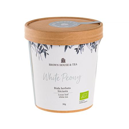Brown House & Tea - White Peony - Herbata sypana 30g