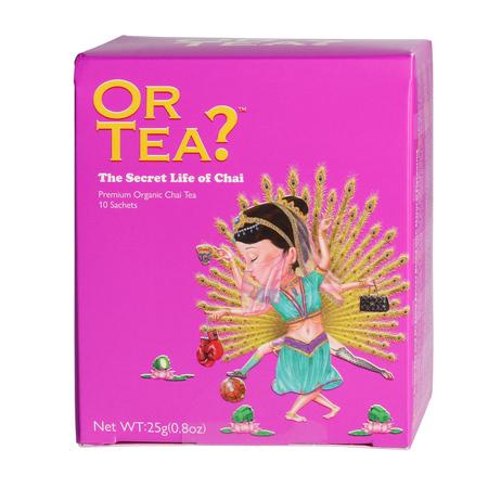 Or Tea? - The Secret Life of Chai - Herbata 10 Torebek