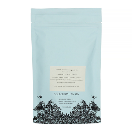 Solberg & Hansen - Herbata sypana - Cranberry and Pomegranate Green Tea