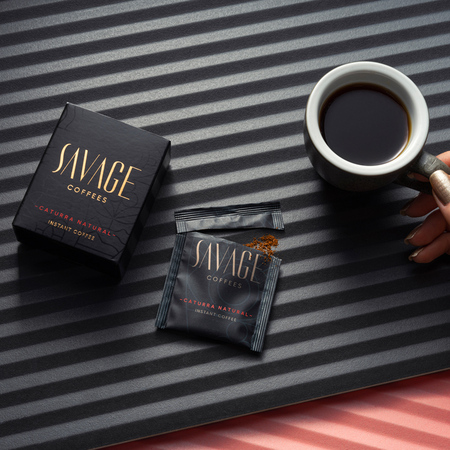Savage Coffees - Caturra Natural Instant - 7 saszetek