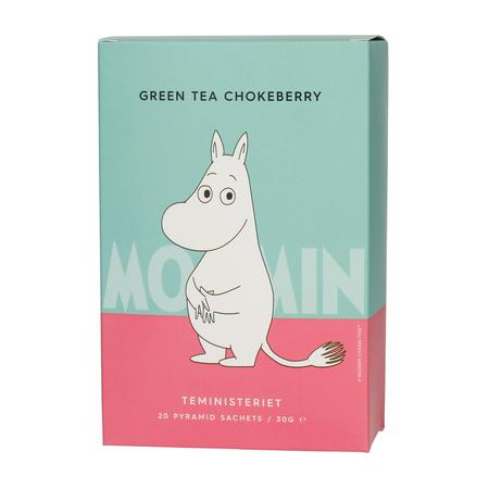 Teministeriet - Moomin Green Tea Chokeberry - Herbata 20 piramidek