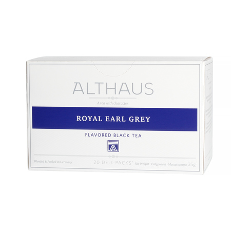 Althaus - Royal Earl Gray Deli Pack - Herbata 20 saszetek