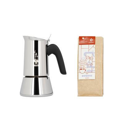 Zestaw Prezentowy: Kawiarka Bialetti Venus 4tz + kawa