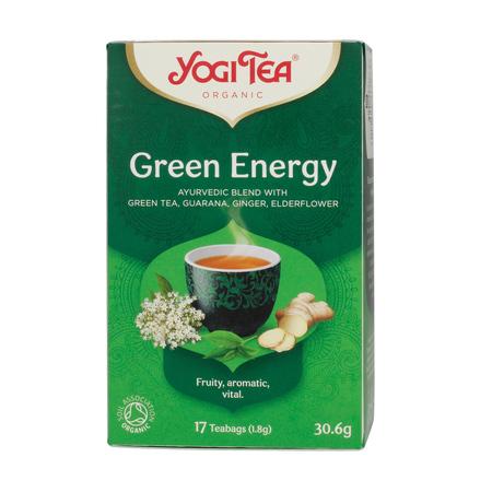 Yogi Tea - Green Energy - Herbata 17 Torebek