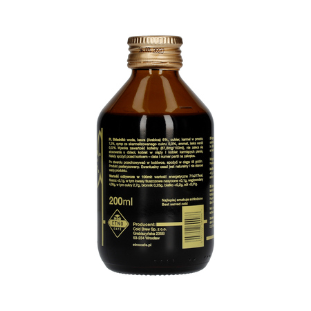 Etno Cafe - Kawa Cold Brew Vanilla 200 ml