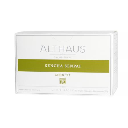 Althaus - Sencha Senpai Deli Pack - Herbata 20 saszetek