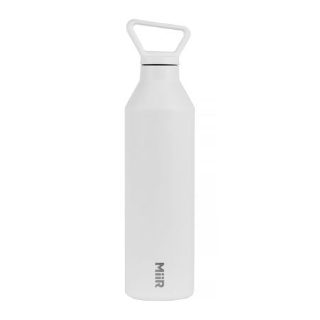 MiiR - Narrow Mouth Bottle Biała - Butelka termiczna 680 ml