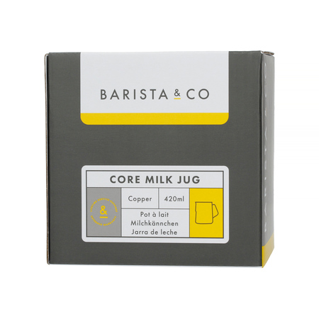 Barista & Co - Core Milk Jug Copper - Dzbanek do mleka 420 ml