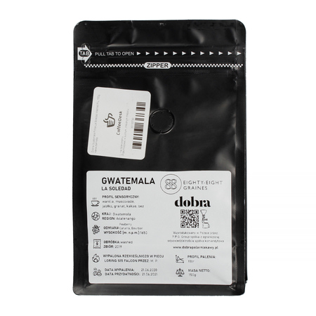 One Bean Only: Dobra Palarnia Kawy x Coffeedesk - Guatemala Finca La Soledad 150g