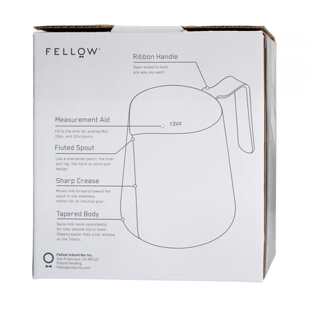 Fellow Eddy Pitcher - Dzbanek do mleka grafitowy 530 ml