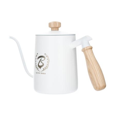 Barista Space - Biały czajnik 600 ml
