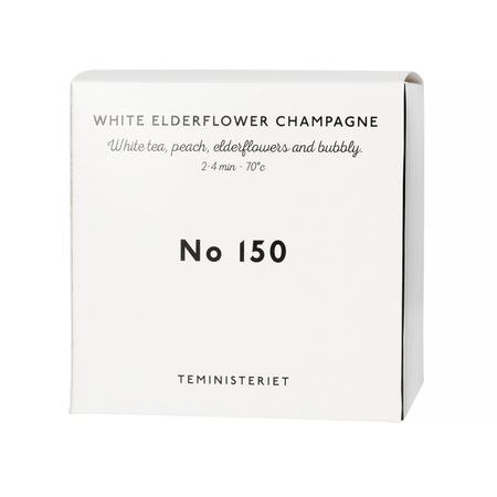 Teministeriet - 150 White Elderflower Champagne - Herbata Sypana 50g - Opakowanie Uzupełniające