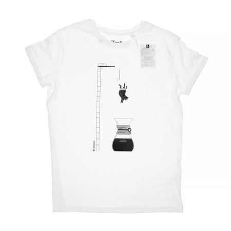 Koszulka Coffeedesk Chemex Biała - Męska XL