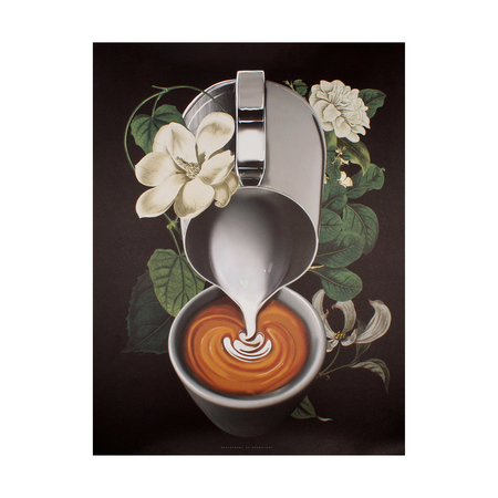Department of Brewology - Grafika Latte Pour Bloom