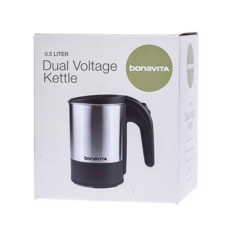 Bonavita Dual Voltage Kettle - Czajnik turystyczny 500ml