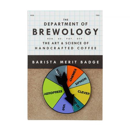 Department of Brewology - Przypinka Brew Spinner