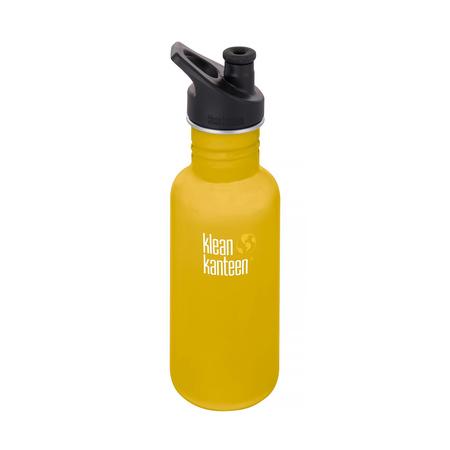 Klean Kanteen - Butelka Classic Sport - Lemon Curry 532ml