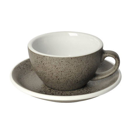 Loveramics Egg - Filiżanka i spodek Cappuccino 200 ml - Granite