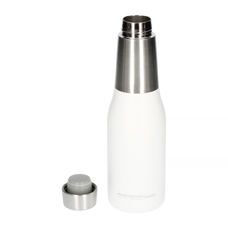 Asobu - Oasis Water Bottle Biały - Butelka termiczna 600 ml