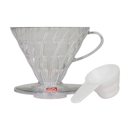 Hario plastikowy Drip V60-02 - Clear