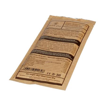 Manufaktura Czekolady - Nierafinowana czekolada do picia - Mleczna z kawą