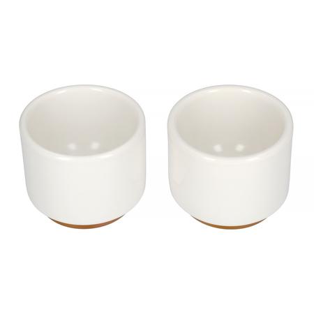 Fellow Monty Espresso - Kubek biały 90 ml - 2 sztuki