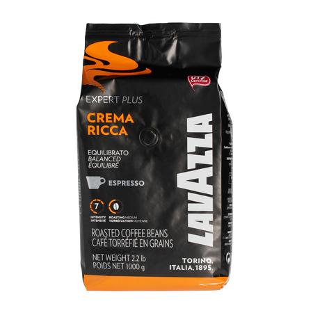 Lavazza Crema Ricca Expert Plus UTZ - Kawa ziarnista 1kg