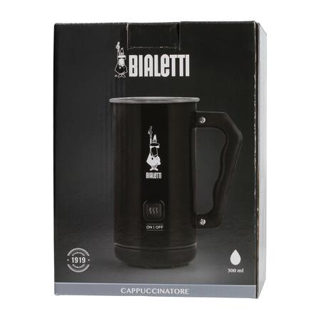 Bialetti Milk Frother MKF02 Nero - Elektryczny spieniacz do mleka Czarny