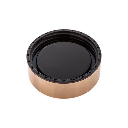 Asobu - Le Baton Czarny / Złoty - Butelka termiczna 500 ml