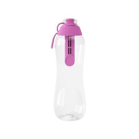 Dafi - Butelka 0,5l z filtrem - Różowy