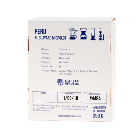 Coffee Republic - Peru El Guayabo
