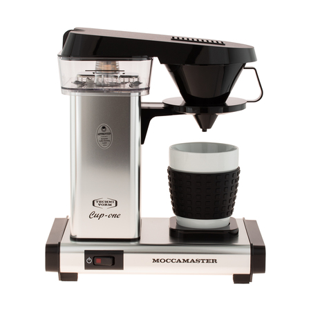 Moccamaster Cup-One Coffee Brewer Polished Silver - Ekspres przelewowy