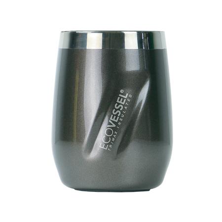 EcoVessel potrójnie izolowany kubek termiczny PORT Gray Smoke 296 ml (outlet)