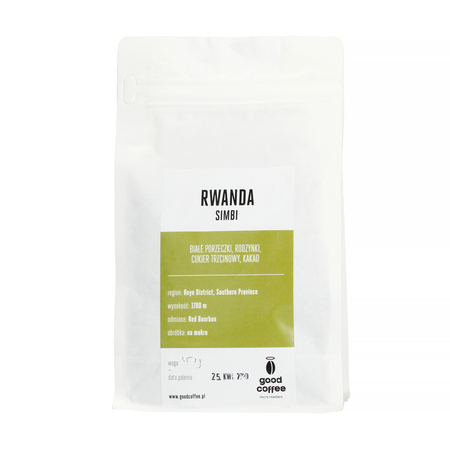 Good Coffee - Rwanda Simbi