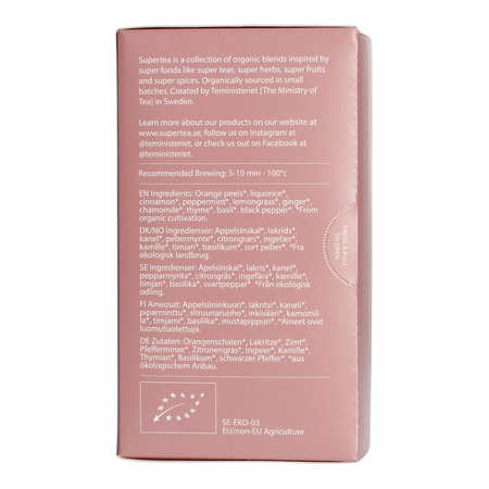 Teministeriet - Supertea Chamomile Thyme Relax - Herbata 20 Torebek