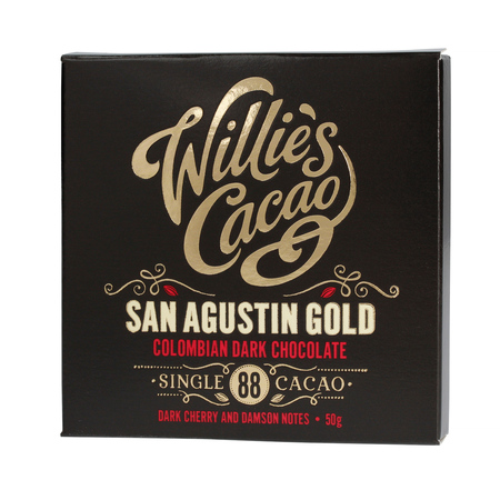 Willie's Cacao - Czekolada 88% - San Agustin Gold Kolumbia 50g