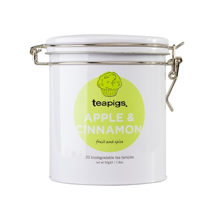 teapigs Apple & Cinnamon 20 piramidek - Puszka
