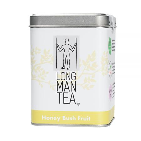 Long Man Tea - Honey Bush Fruit - Herbata sypana - Puszka 120g
